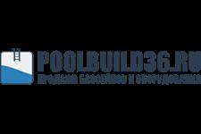 Логотип оборудования для бассейнов Poolbuild36.ru